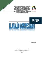 AVALÚO AGROPECUARIO (UPTP)