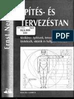 Ernst Neufert_Epites Es Tervezestan