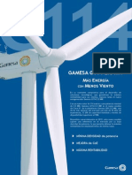 2012 Marzo Gamesa g114 20 Mw Data Sheet Es
