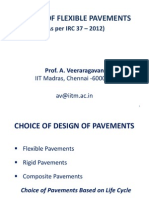 Design of Flexible Pavement as Per Irc_37_2012