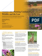 wildlife and the law - wildlife and planning guidance