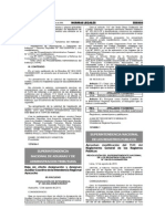 Modificación de los artículos 10-A y 32-A del  TUO del Reglamento general de los Registros Públicos