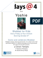 Fridays at Four-2015-2016 Flyer