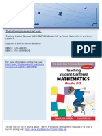 Foundations of Math de Walle
