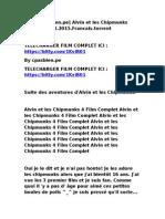 [Cpasbien.pe] Alvin Et Les Chipmunks 4.2015.Francais.torrent