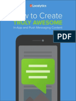 How to Create Truly Awesome in App and Push Messaging Content