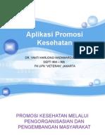 Aplikasi Promosi Kesehatan 2