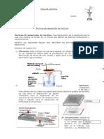 Química Métodos de Separación de Mezcla