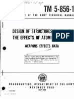 Army Technical Manual Design of Structures to Resist the Effects of Atomic Weapons (Blast)