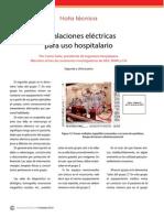 Instalaciones Electricas Para Uso Hospitalario