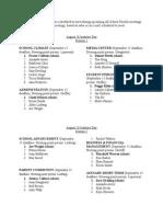 All School Faculty Meeting Schedule- Updated