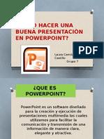Como Hacer Una Buena Presentaciòn en Powerpoint