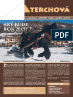 Obecné noviny Terchová - 2015 / 1