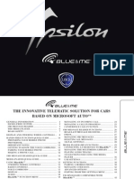 Lancia Ypsilon 2011 Misc Documents-Blue and Me