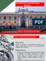 Procedimientos Parlamentarios Ed1 Unidad 4 Especial Lectura