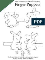 Kids Printable Finger Puppets