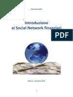 Introduzione Ai Social Network Finanziari