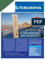 Obecné noviny Terchová - 2014 / 5-6