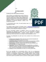 Convocatoria Artes La Revista