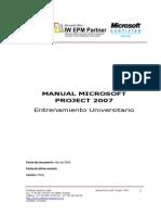Manual Project Professional 2007 Universidades