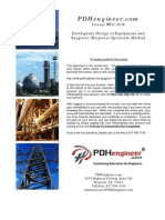 Earthquake Design Equipment Supports