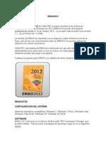 Instrucciones de Instalación ERGO 2012