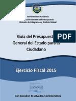 Guia Del Presupuesto Para El Ciudadano 2015