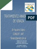 Dr. Faustino Sieriz - Tratamiento Anaerbico de La Vinaza