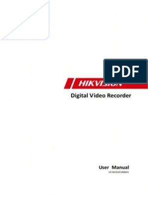 MANUAL HIKVISION DS-7200HW | Electromagnetic Interference