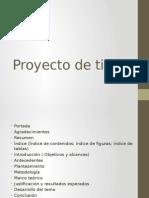 Proyecto de Titulo