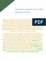 What is the Nicolaitan Spirit or Doctrine