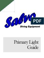 Instrucciones HID LightManual
