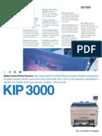 Manual en Español Kip 3000