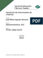 Aplicacion de Instrumentos de Medicion