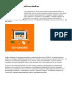 Corsi Successo WordPress Online
