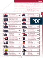 Valvuclas de PVC tipo Check TC v1
