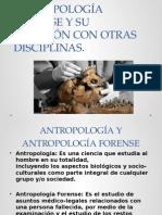 Antropología forense.