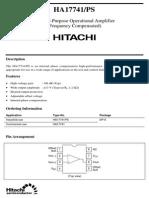 HA17741 datasheet