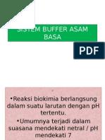 Ph, Asam-Basa, Buffer
