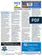 Pharmacy Daily for Tue 18 Aug 2015 - Primary health crossroad, APP input sought, Illegal supplier jailed, Guild Update and much more