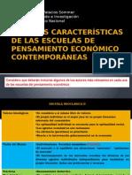 3. Escuelas de Pensamiento Economico