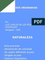 Medios de Impugnacion.recursos Ordinarios. c.g.p.