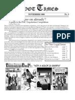 Moot Times - November 2008