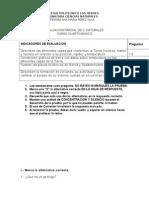 Evaluacion Parcial de c. Naturales