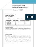 FX Summary Report