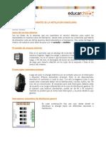 Componentes de La Instalacion Domiciliaria
