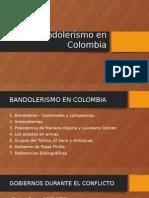 Bandoleros en Colombia