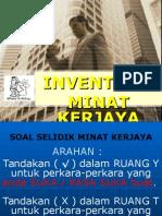 INVENTORI  MINAT KERJAYA.ppt