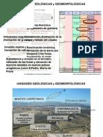 UNIDADES GEOMORFOLOGICAS