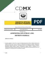Acuedo de Nueva Cultura Laboral en La Ciudad de Mexico
